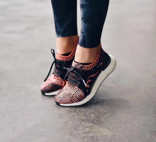 WHO'S WEARING ADIDAS ULTRA BOOST X SNEAKER?
