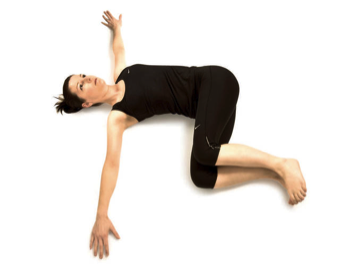 revolved belly pose  exercises  stretching exercises