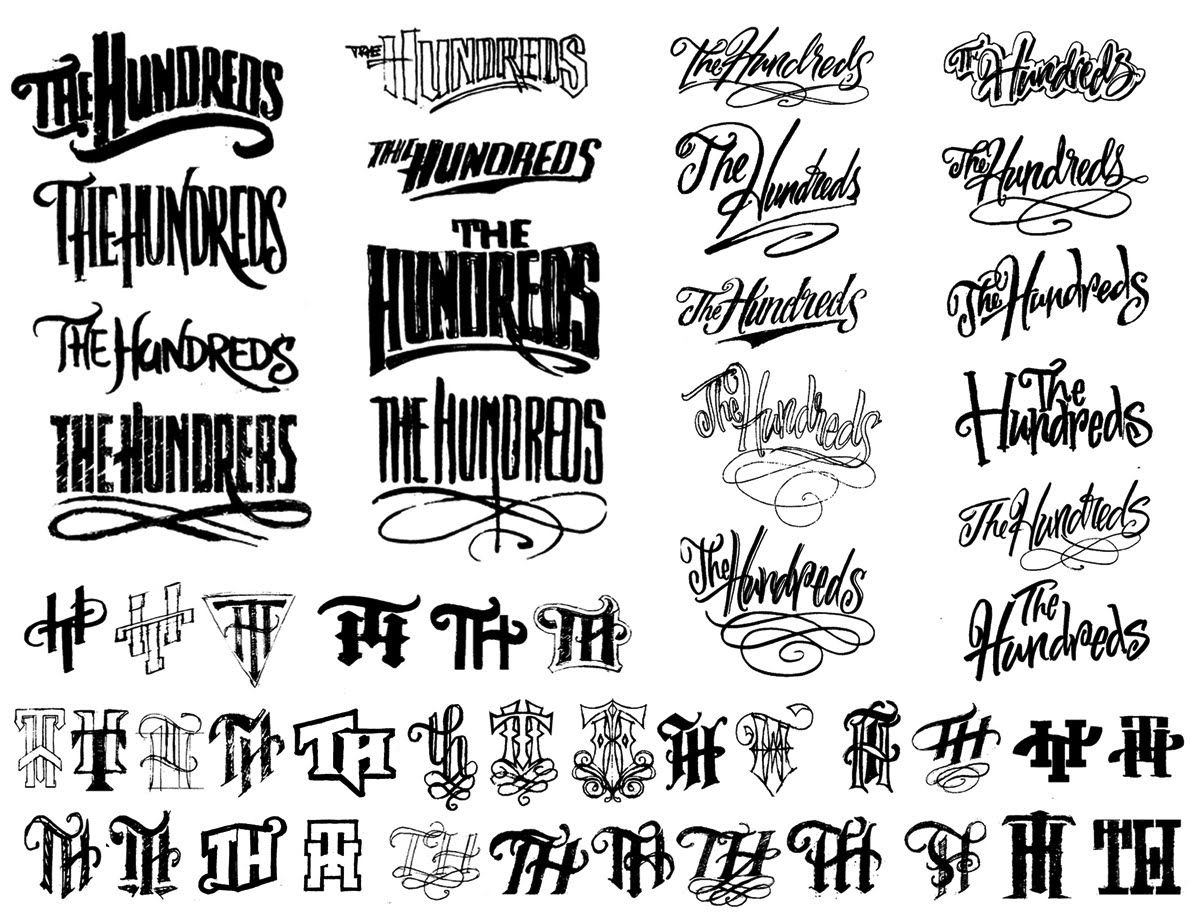 The Art Of Hand LetteringAlan Ariail  Lettering  Type Vintage