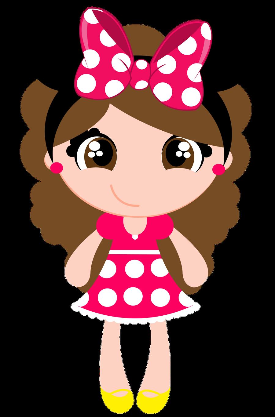 Pin Dolls Fashion Illustrations ; Clip Art