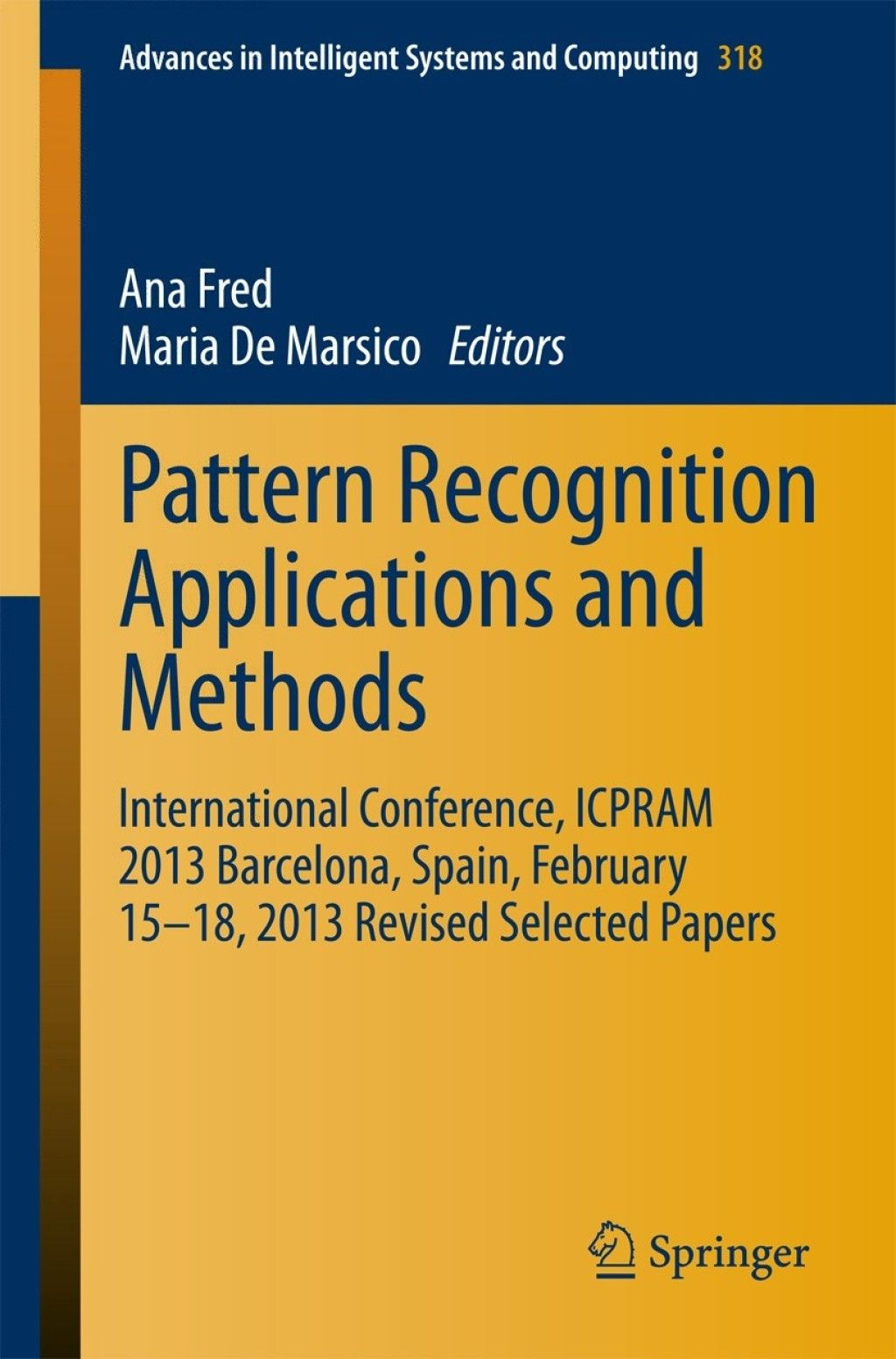 Pattern Recognition Applications And Methods Ebook Products