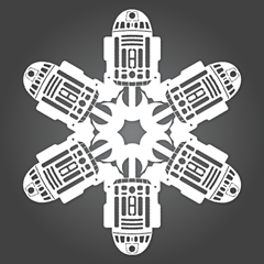 Geek-Out: DIY Star Wars Snowflakes   Crafty Things That I Must Try ...