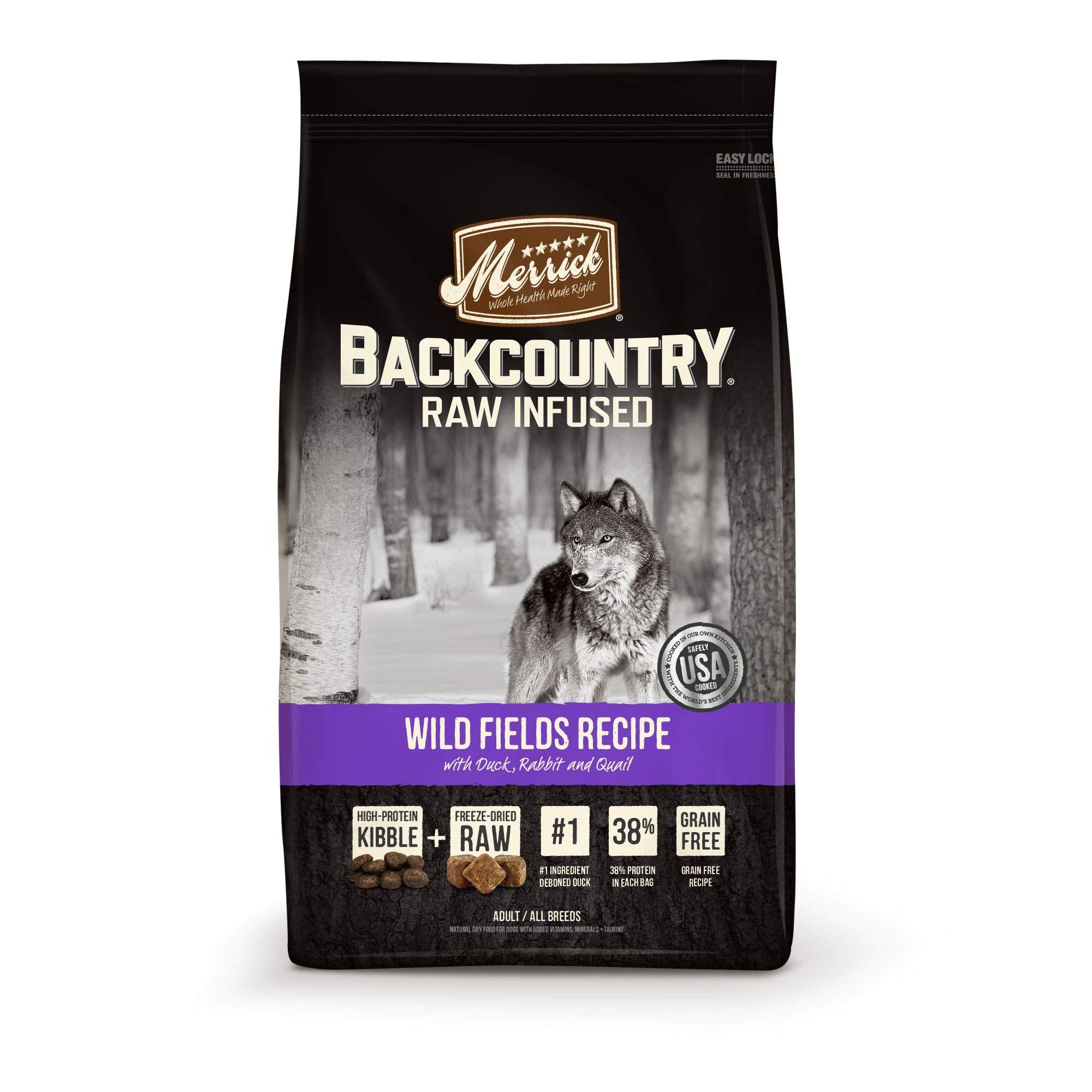 Merrick Gf Back Country Wild Fields Dry Dog Recipe 4 Lb Check