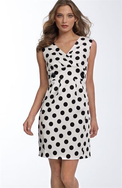 07c36b1298953c3 Шикарные платье в горошек | Сукні | Платья, Ткань в горошек, Одежда