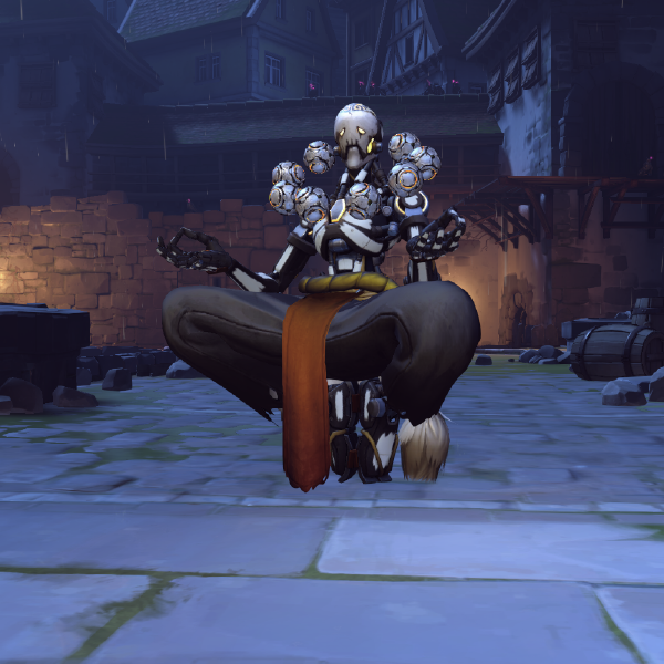 Skullyatta Overwatch, Inktober, Character