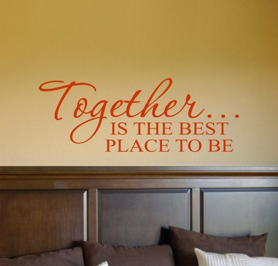 Together Family Vinyl Lettering - Vinyl Wall Art - Vinyl Decal ...