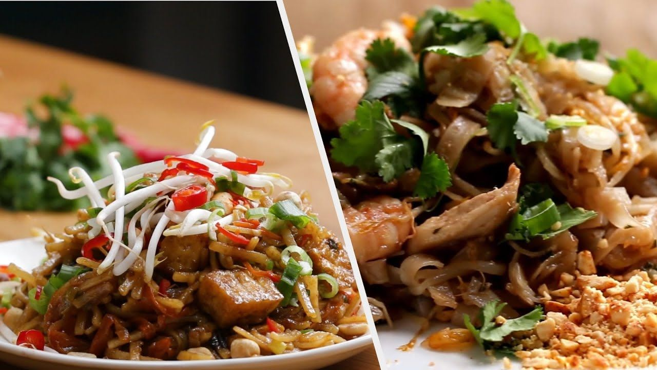 5 delicious pad thai inspired dishes tasty youtube pad thai recipes tasty 5 delicious pad thai inspired dishes