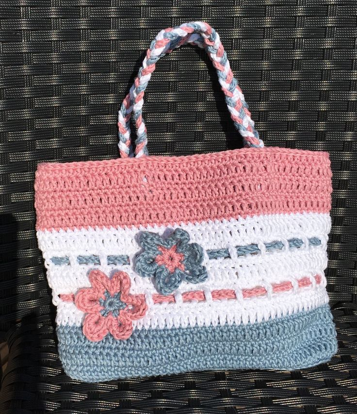 Free pattern UK and US terms to make this crochet bag. Instructions ...