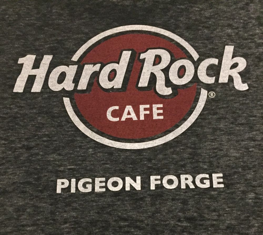 Hard Rock Cafe Pigeon Forge Tennessee X Large Short Sleeve Tee T