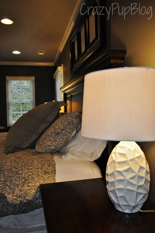 These White Geometric Lamps Are A Fabulous Addition To Blogger Michelle 39 S Bedroom Great