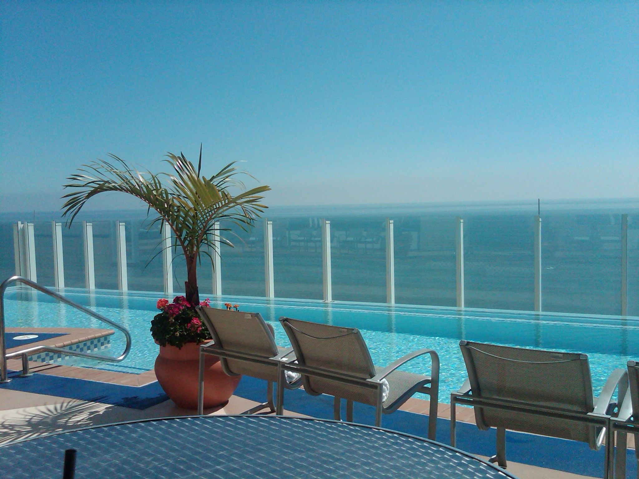 Rooftop Pool Hilton Oceanfront Virginia Beach That I Never Saw After Staying There For 4 Days