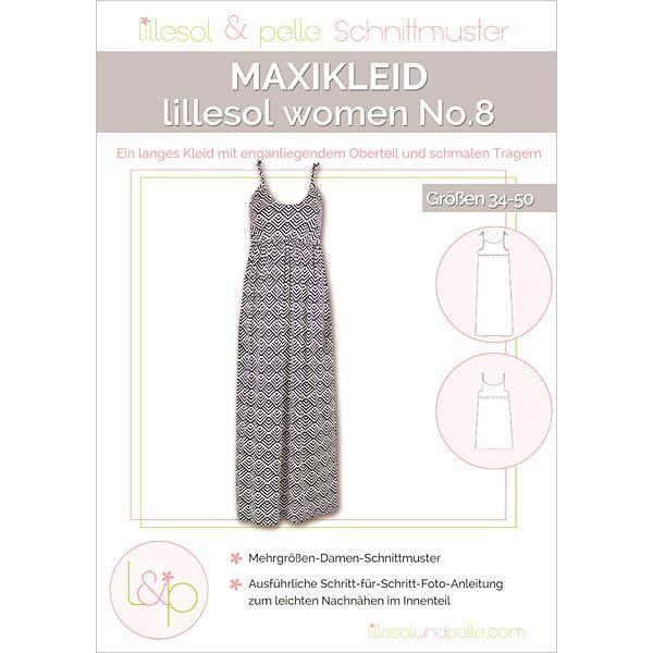 Maxikleid, Lillesol & Pelle No. 8 | 34 - 50 | Schnittmuster kleid ...