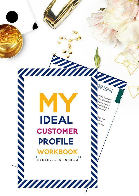 Ideal Customer Profile Workbook  Profile