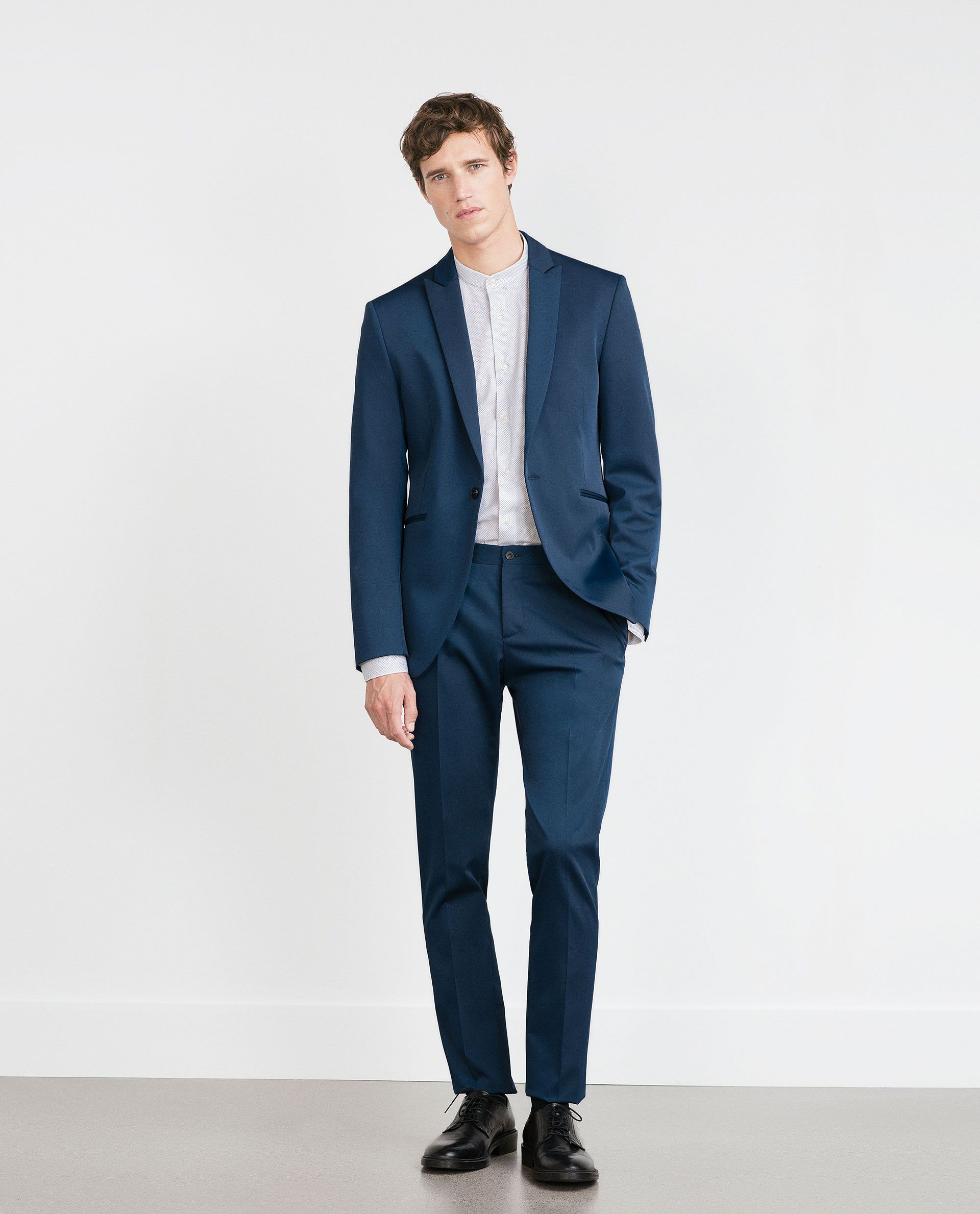 Image 2 of TECHNICAL FABRIC SUIT from Zara | Grooms | Pinterest ...