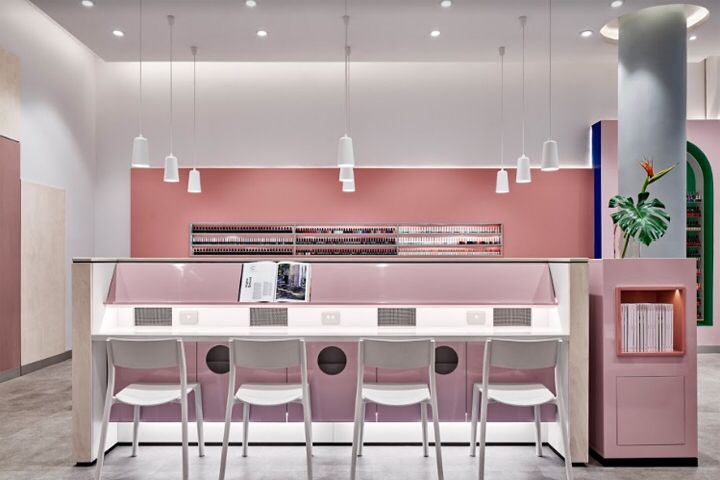 Professonail Westfield Hornsby By Jason Byrne Design Sydney Hornsby Australia Salon Interior Design Nail Salon Interior Design Retail Design