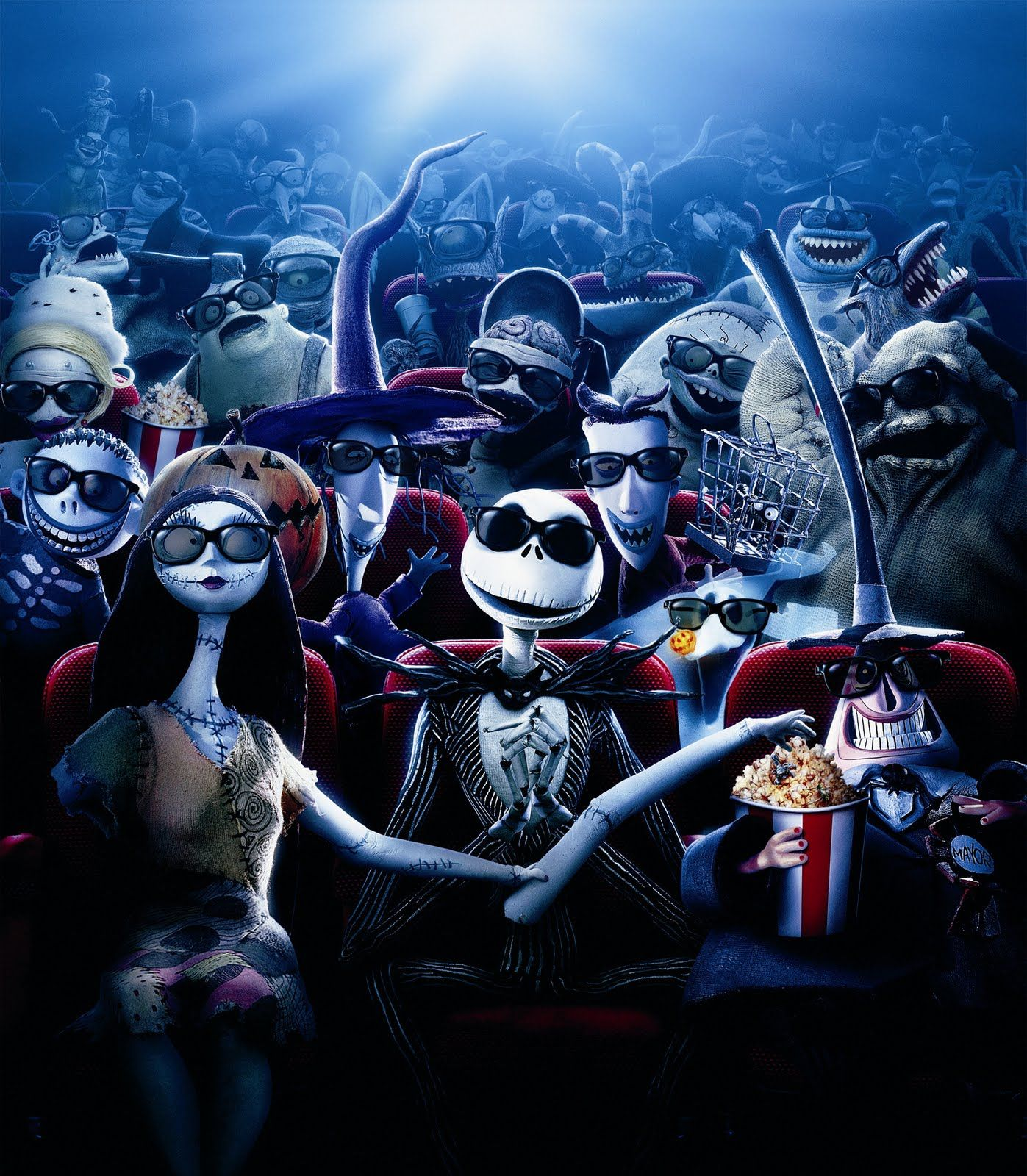 Jack and friends, from The Nightmare Before Christmas