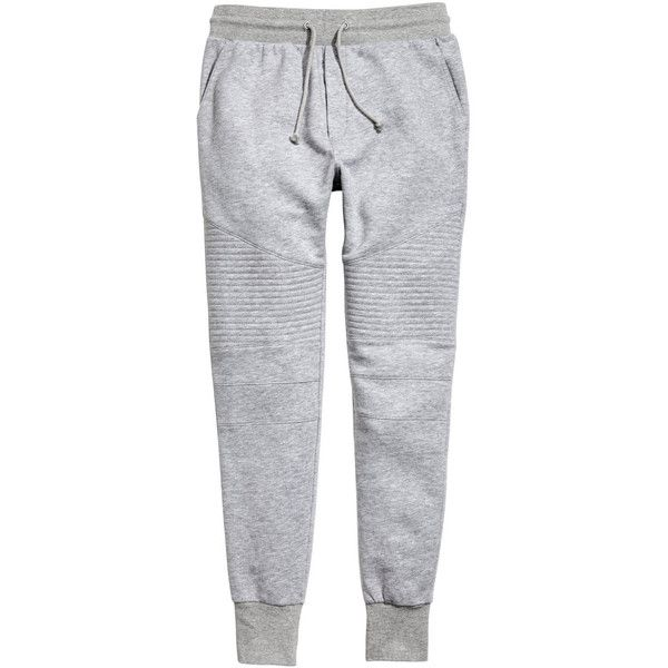 Biker Joggers $29.99 ($30) ❤ liked on Polyvore featuring activewear, activewear pants and bike sportswear
