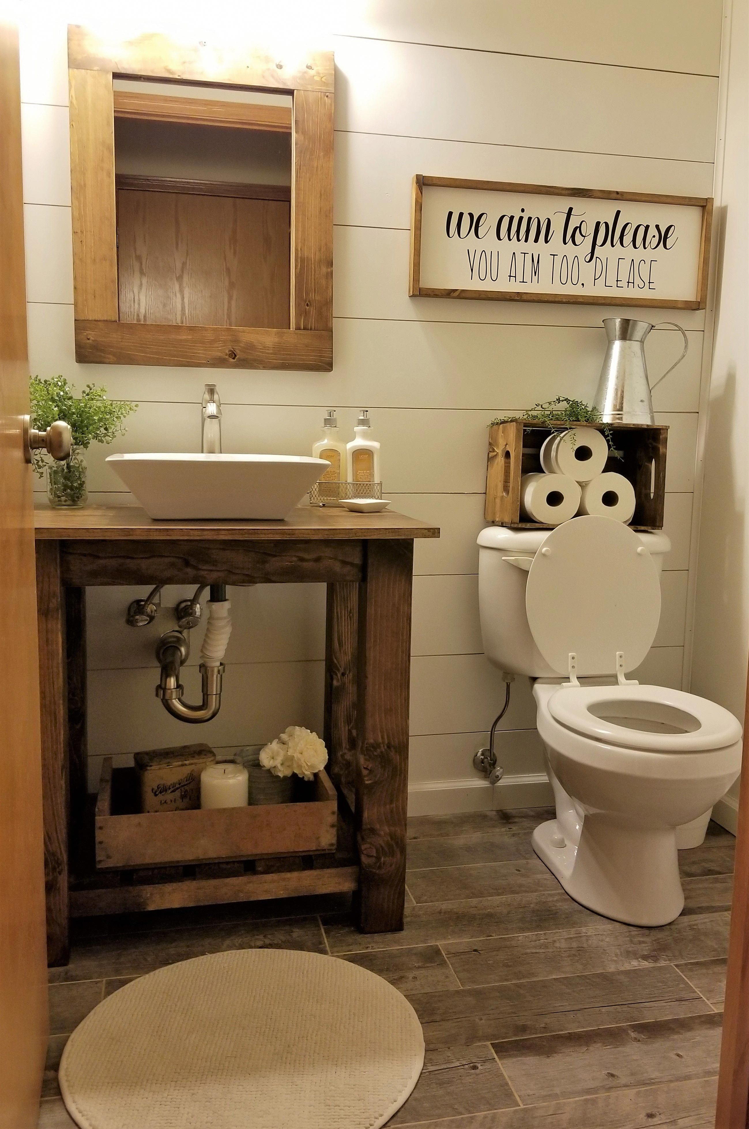 23 vanities bathroom ideas to get your best rustic on bathroom renovation ideas on a budget id=70706