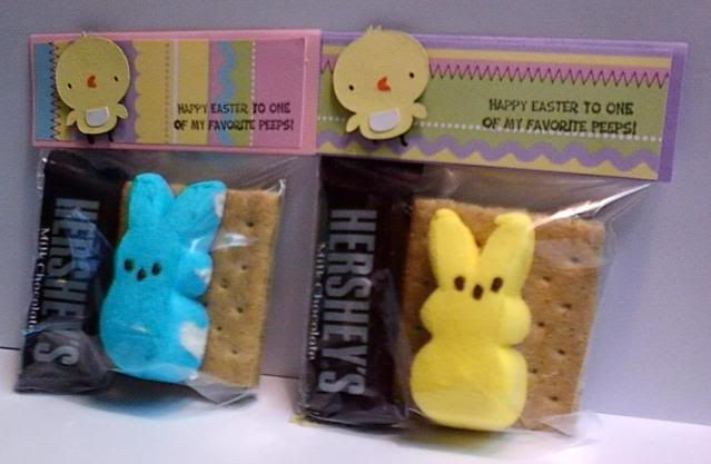 I made these for easter!  Cute and fun!