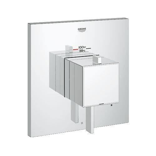 Grohe 19 926 Eurocube Cosmo Square Single Function Thermostatic
