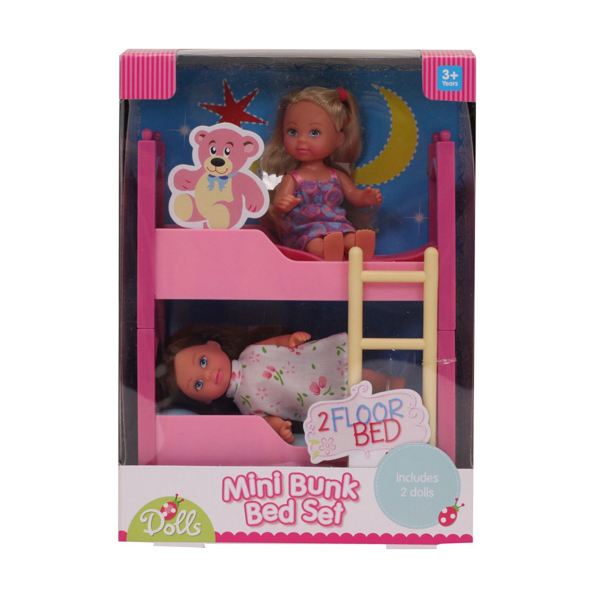 Best Mini Bunk Bed Set With 2 Dolls Kmart Mini Bunk Bed 400 x 300
