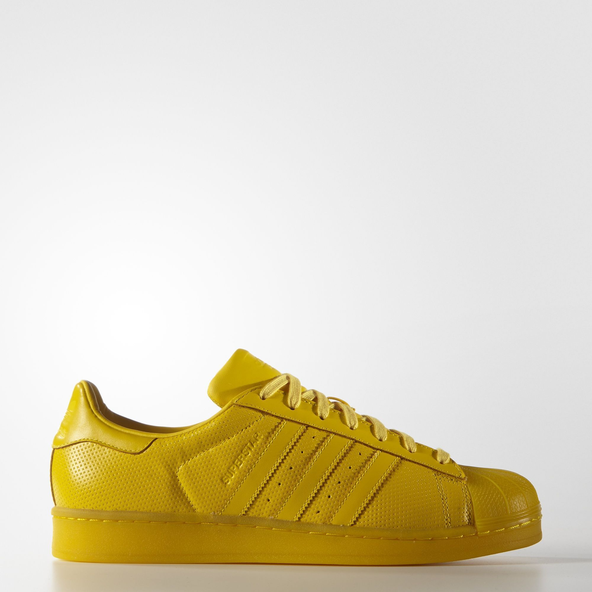 Adidas Superstar Adicolor amarillo Products Pinterest