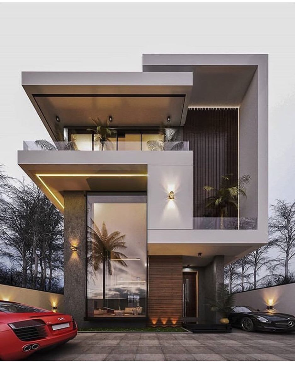698 Me Gusta 30 Comentarios Rich Diary Rich Diary En Instagram How Would You Rate This Modern House Design Modern Small House Design Contemporary House
