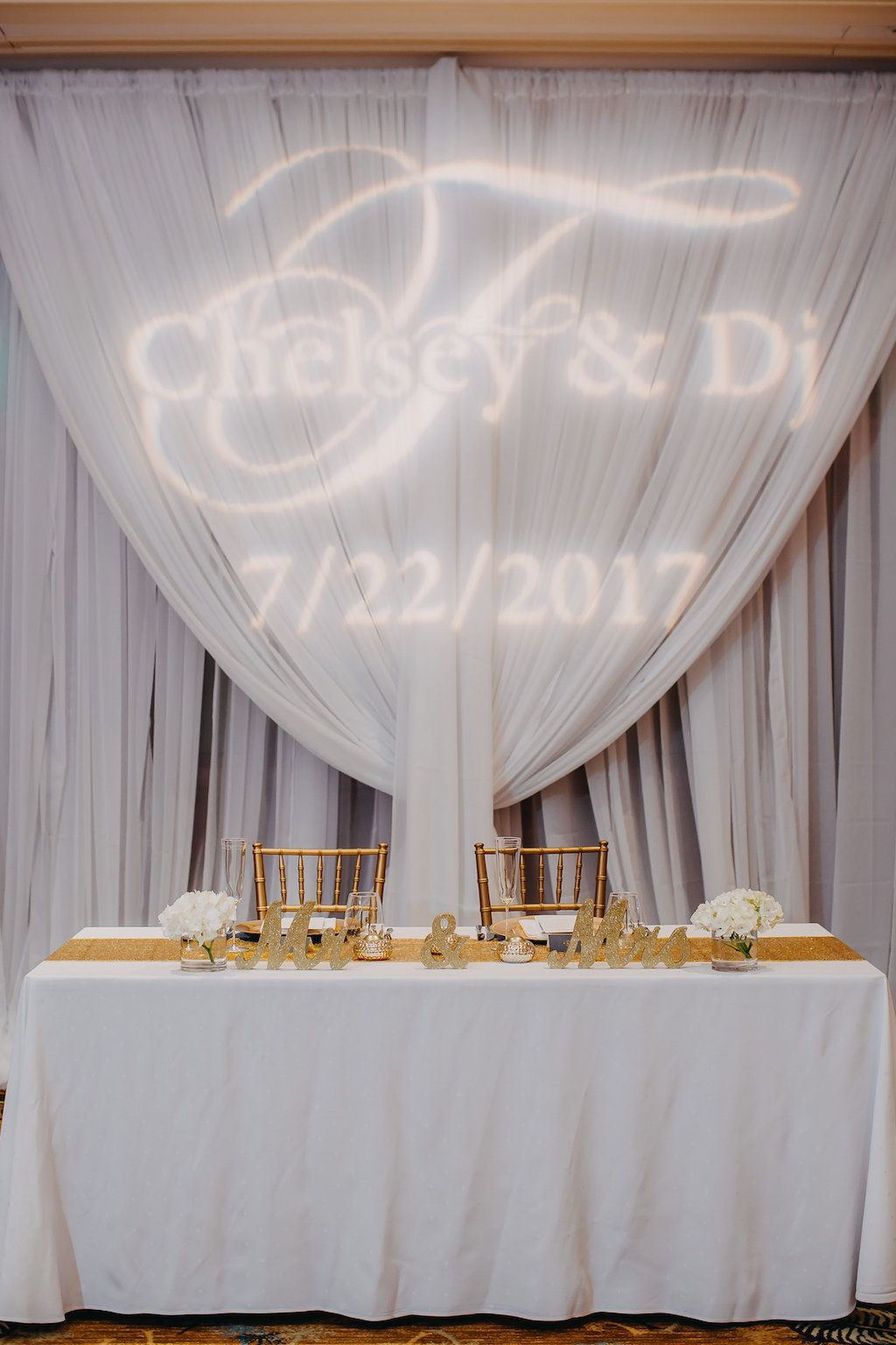 Navy Blue, Gold and White Wedding | Pinterest | Gold table runners ...