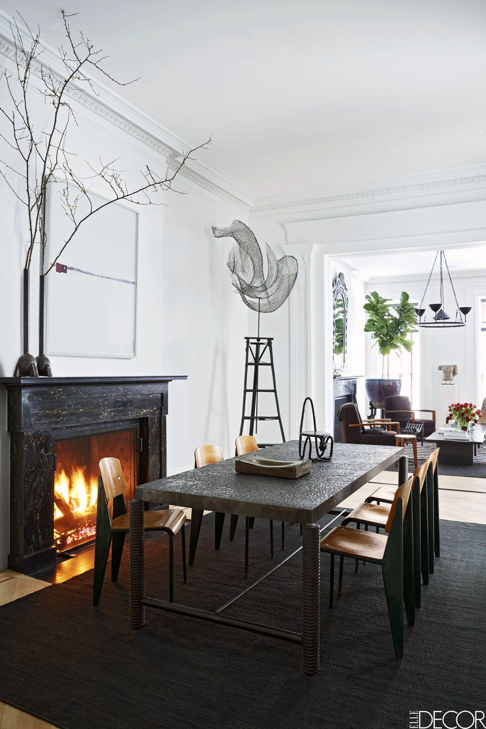 10 stunning dining rooms for hosting holiday feasts west village