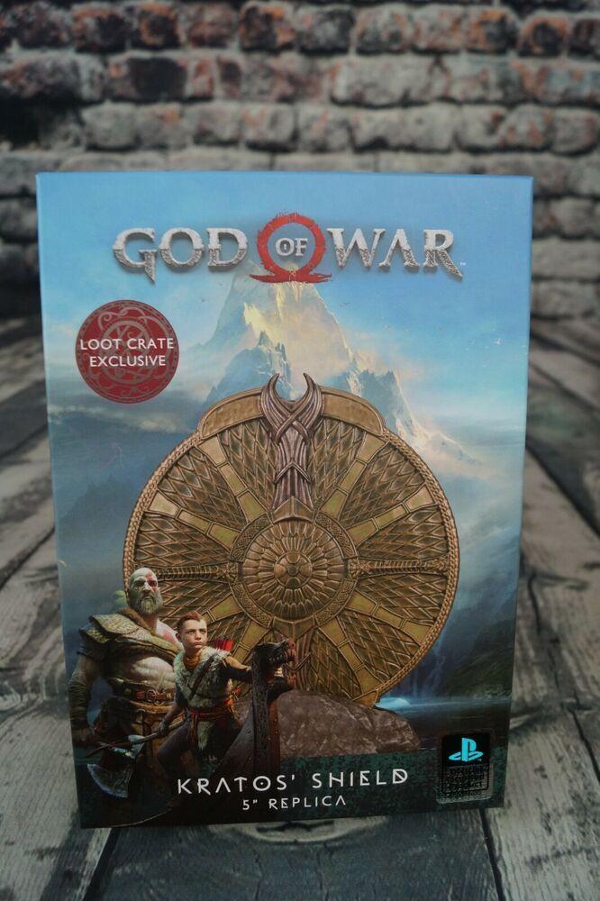 Loot Crate DX April 2018 Exclusive God of War Kratos