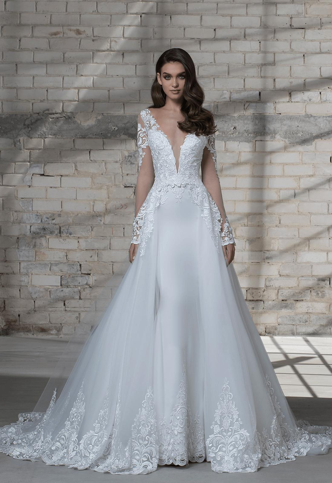 STYLE NO. 14673 DETACHABLE SKIRT | Wedding dresses | Pinterest ...