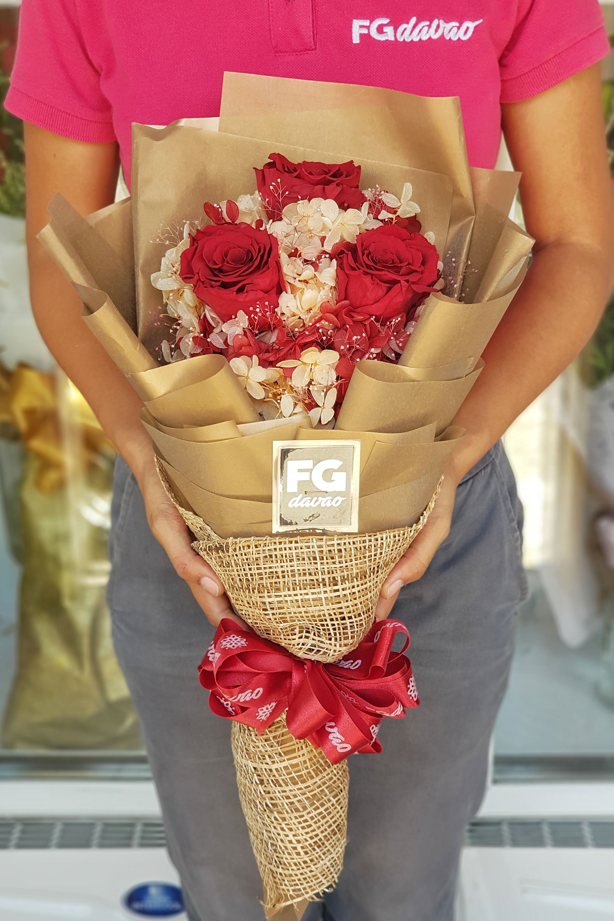 Preserved Flower Bouquet Eternity Bouquet Price List can