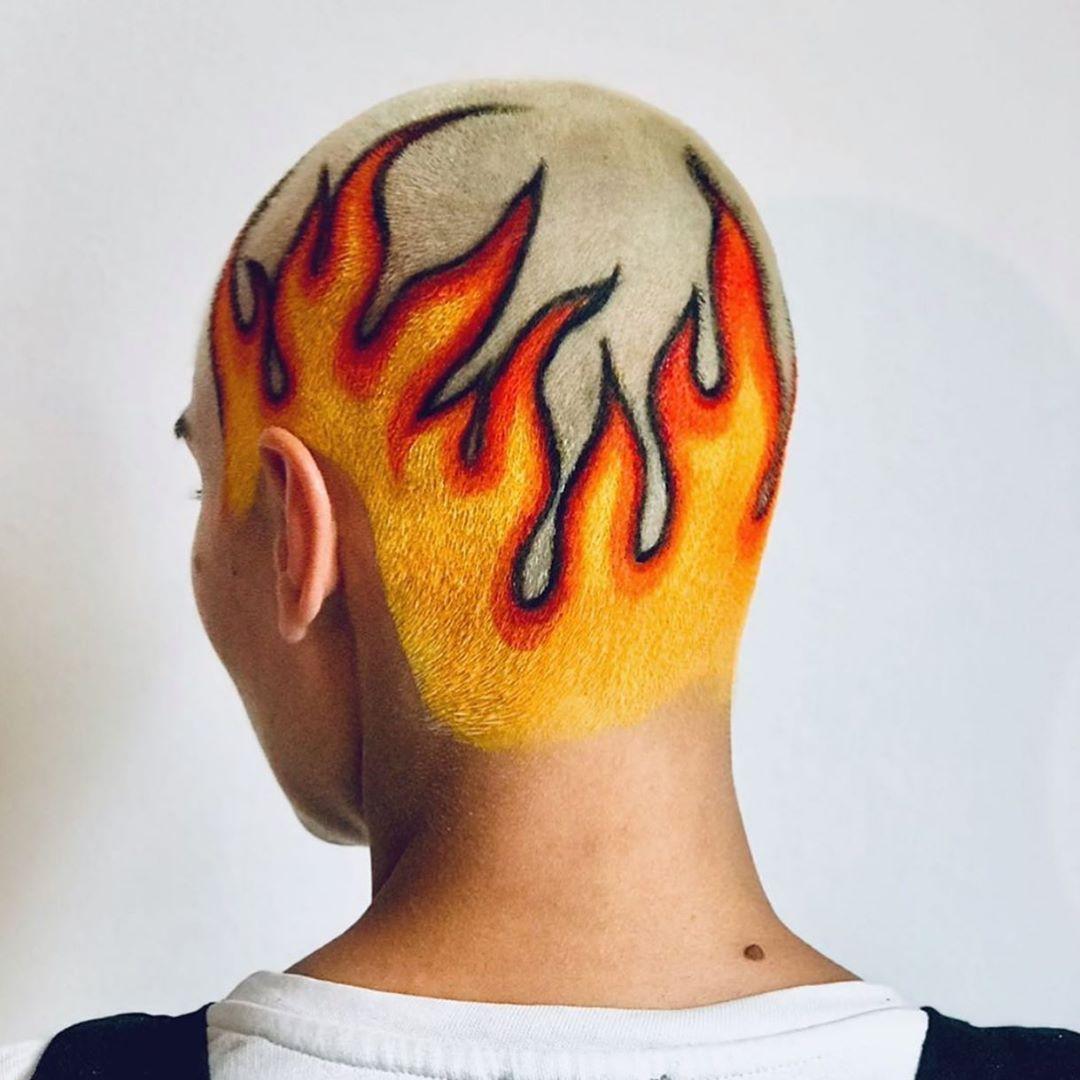 39++ Astonishing Head tattoo hair price image ideas