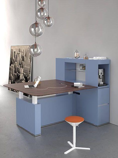 Îlot de cuisine contemporain pour bureau - ISOLA ERGONOMIC - ESTEL