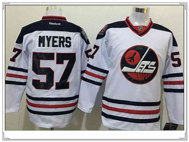new concept 5fbcf d68bd Men's Winnipeg Jets #57 Tyler Myers White 2017 Winter ...