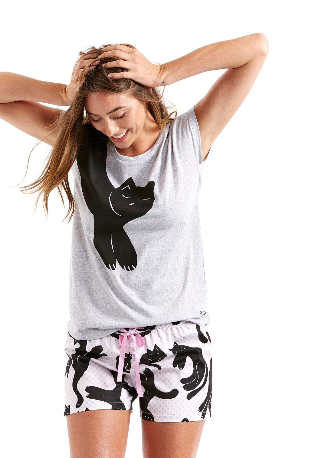 Image For Lazy Cat Pj Set From Peter Alexander Peter