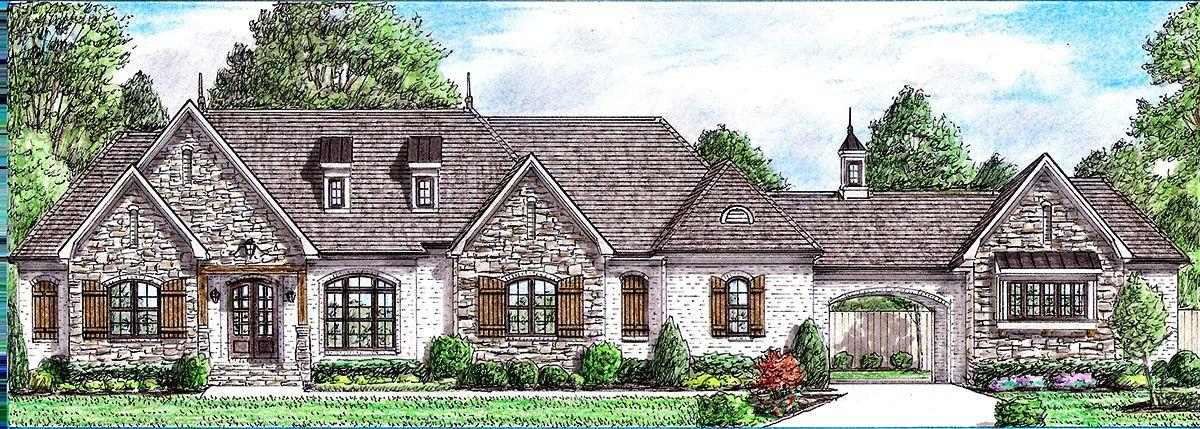 Plan 94052ch 3 Bed Timeless European House Plan French Country House French House Plans Country House Plans