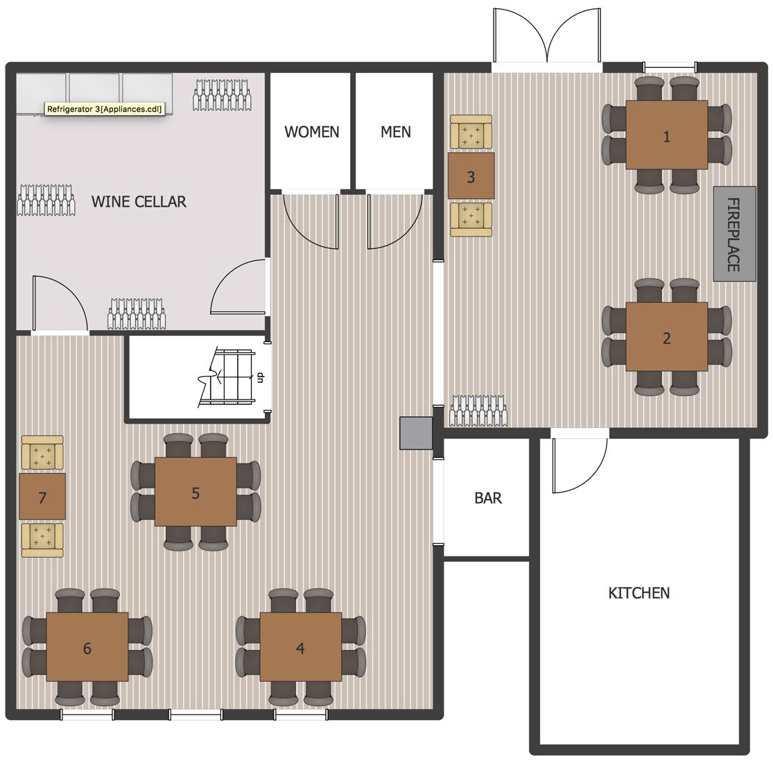 Wine Cellar Floor Plan Restaurant Floor Plan Cafe Floor Plan Restaurant Flooring