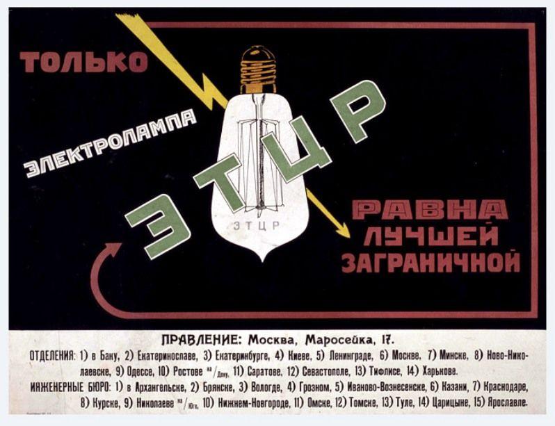 [:RU]Советские плакаты об электрофикации страны (With ...