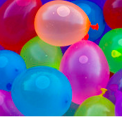 You Re All Wet Go Mighty Water Balloon Fight Water Balloons Balloons