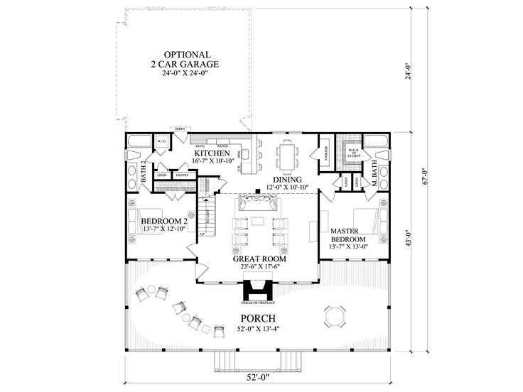 Waterfront House Plans Waterfront Home Plan Provides Relaxation On The Riverbank Plan 063h 0215 At Floor Plan Design House Plans Country Style House Plans