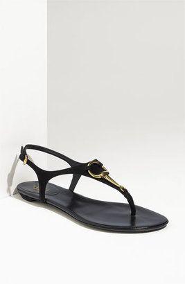 6fc167b23ea ShopStyle  Gucci  Lady  Thong Sandal
