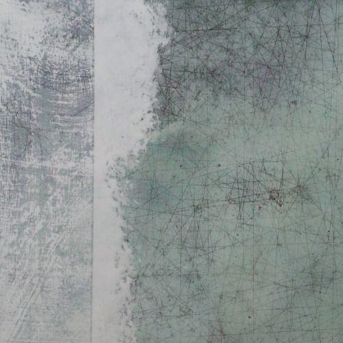 paullorenz:  Paul LorenzJULY 30, #9graphite, casein, ink on panel, 18″ x 18″, 2015
