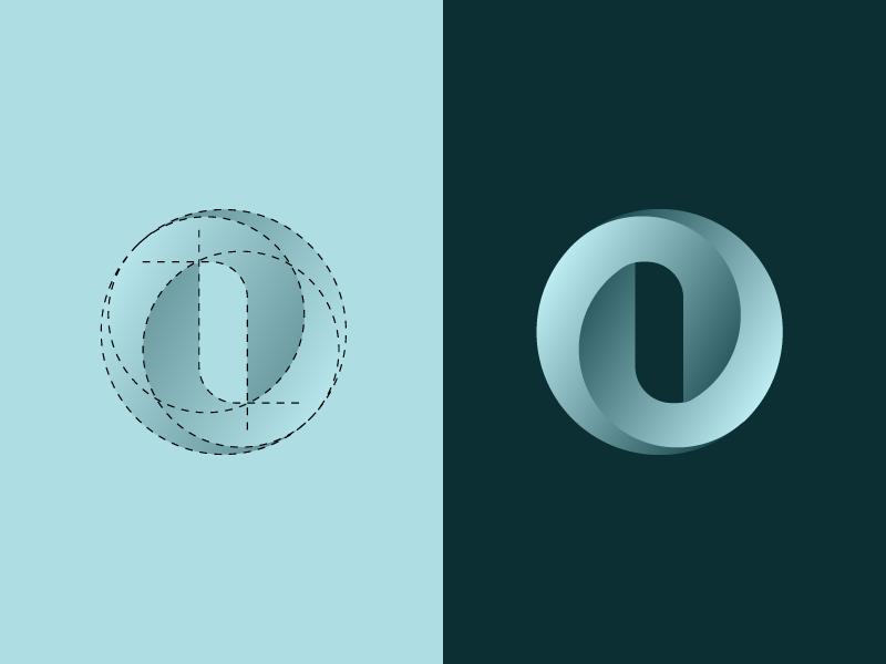 O Letterform Logo Design Logo Design Inspiration Typography Logo Letter Logo Design