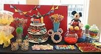 mickey mouse clubhouse candy buffet - Bing Images