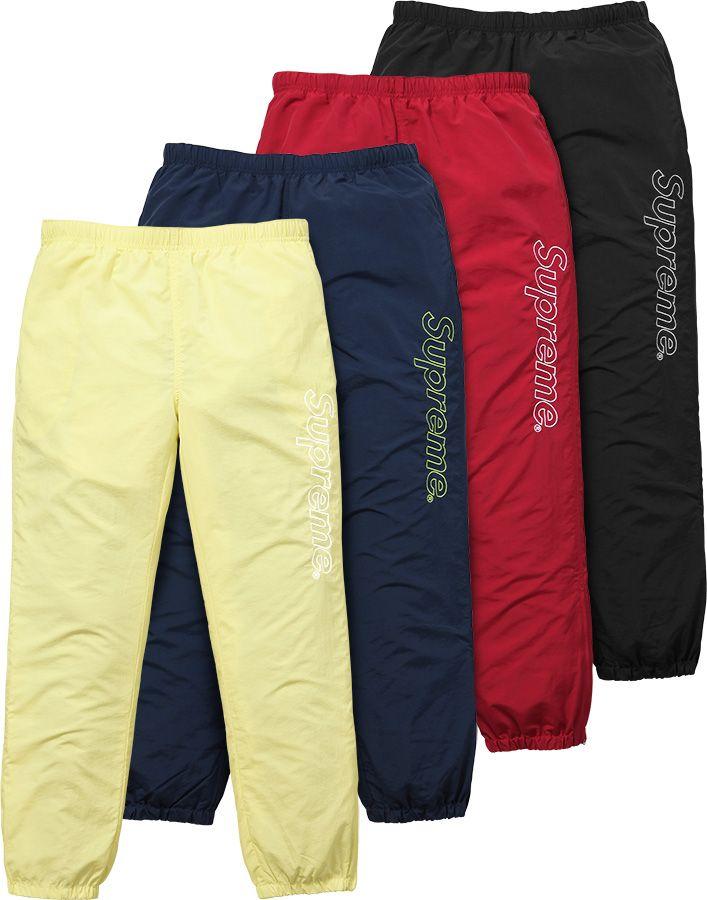 952f47a5eab25 Supreme Warm Up Pant