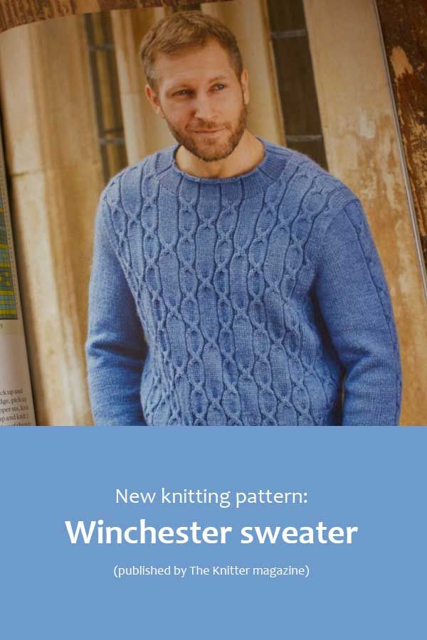 Winchester Sweater A New Design By Nicki Merrall From Being