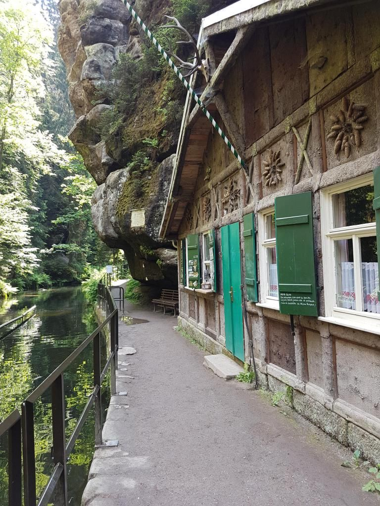Photo of Elbe Sandstone Mountains with children: Our travel tip for families