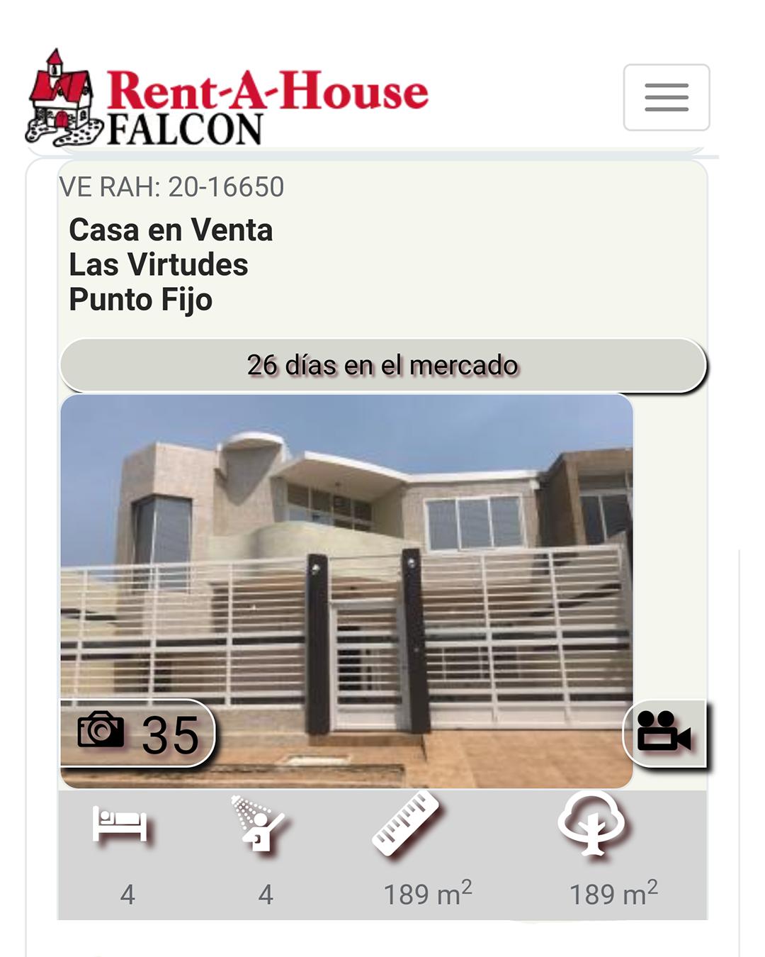 Pin en Casas en venta en Punto Fijo, Falcón