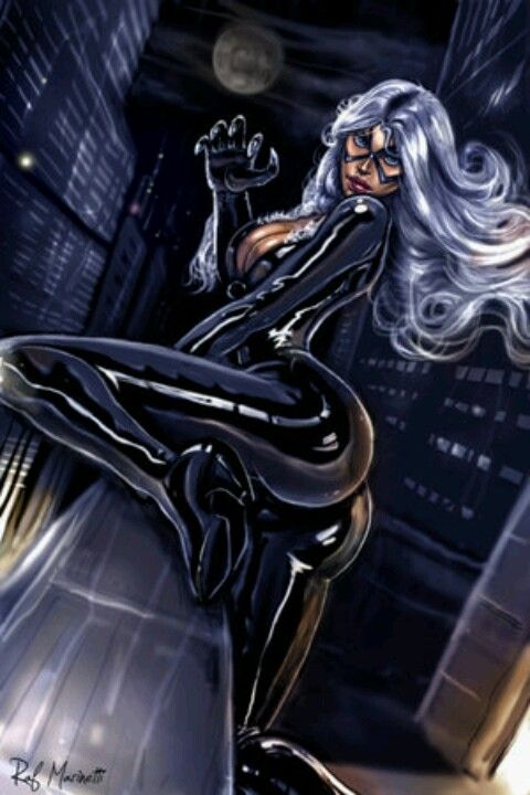 Sexy Black Cat | hot n sticky characters | Pinterest